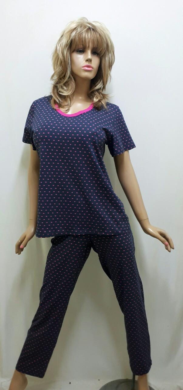 Пижама футболка и брюки 286