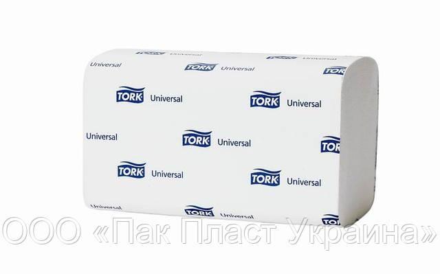 Tork Universal полотенца сложение ZZ белые, 266 шт.(290157)