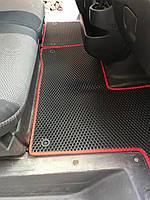 Renault Master 2011↗ гг. Полиуретановые коврики (EVA, черные)
