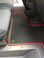 Nissan NV400 2010↗ гг. Полиуретановые коврики (EVA, черные)