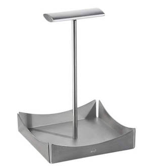 Б/у Подставка из нержавеющей стали Zieher 11,4x11,4см, сервировка стола, предметы сервировки, фото 2