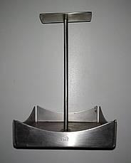 Б/у Подставка из нержавеющей стали Zieher 11,4x11,4см, сервировка стола, предметы сервировки, фото 3