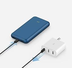 Универсальная батарея Xiaomi ZMI 10 Pro Power Bank 20000mah 65W
