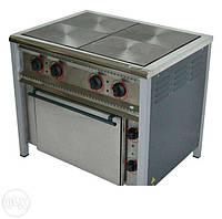 Плита электрическая ПЭ-4Ш,4-х конф., С жарочным шкафом