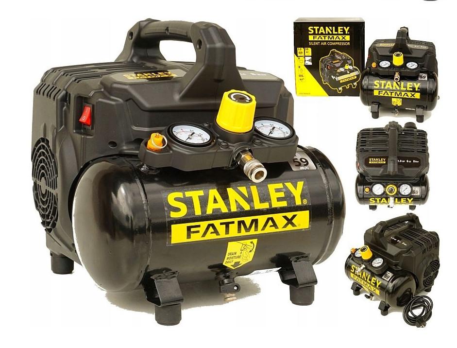 Компрессор переносной STANLEY FATMAX 6L - 8bar SILENT