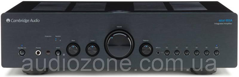 Интегральный стерео-усилитель Cambridge Audio Azur 651A