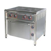 Плита электрическая ПЭ-4Ш Н,4-х конф., С жарочным шкафом