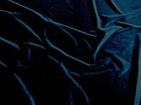Бархат (т. синий) (арт. 05430) отрез 1,22 м