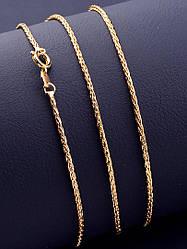 Позолоченная цепочка на шею 45 см XUPING ювелирная бижутерия