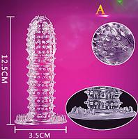 Збільшуючий презерватив багаторазовий 3d №1 (А) (11966)