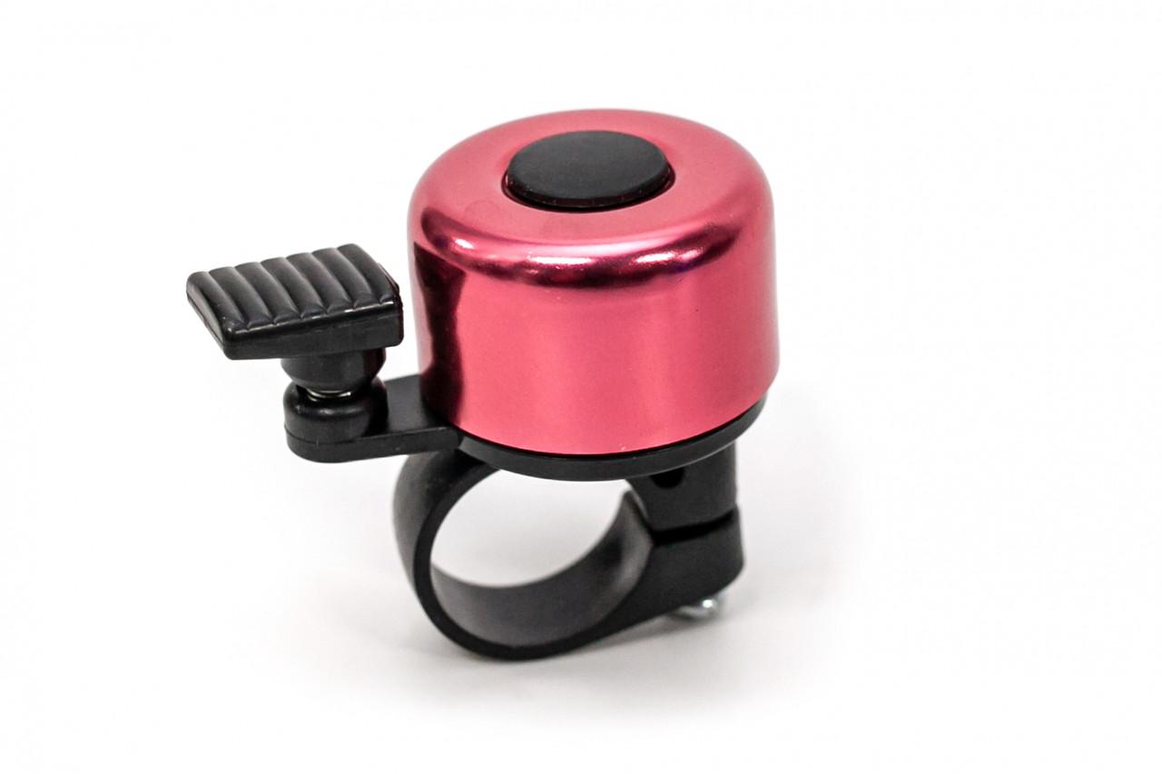 Велосипедний дзвінок міні рожевий BC-BB3201A