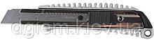 Нож универсальный 18мм металлический корпус BUROMAX