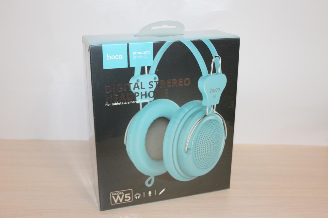 Навушники HOCO W5 Blue