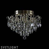 Потолочная люстра в спальню 2074/4+4 FGD R Svitlight