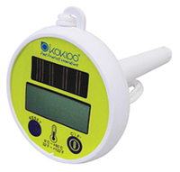 Термометр плавающий, цифровой на солнечных батареях, Kokido