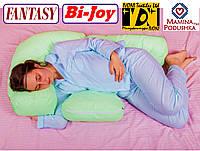Подушка для беременных Fantasy Bi-Joy, Наволочка (на выбор) входит в комплект