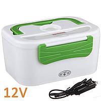 Автомобильный ланч бокс с подогревом The Electric Lunch Box (0185) 1,05 л 12В Зеленый