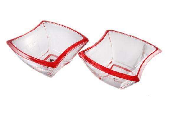 Набор салатников 14 см 2 шт Winx Cherry Red Walther-Glas WG-4483