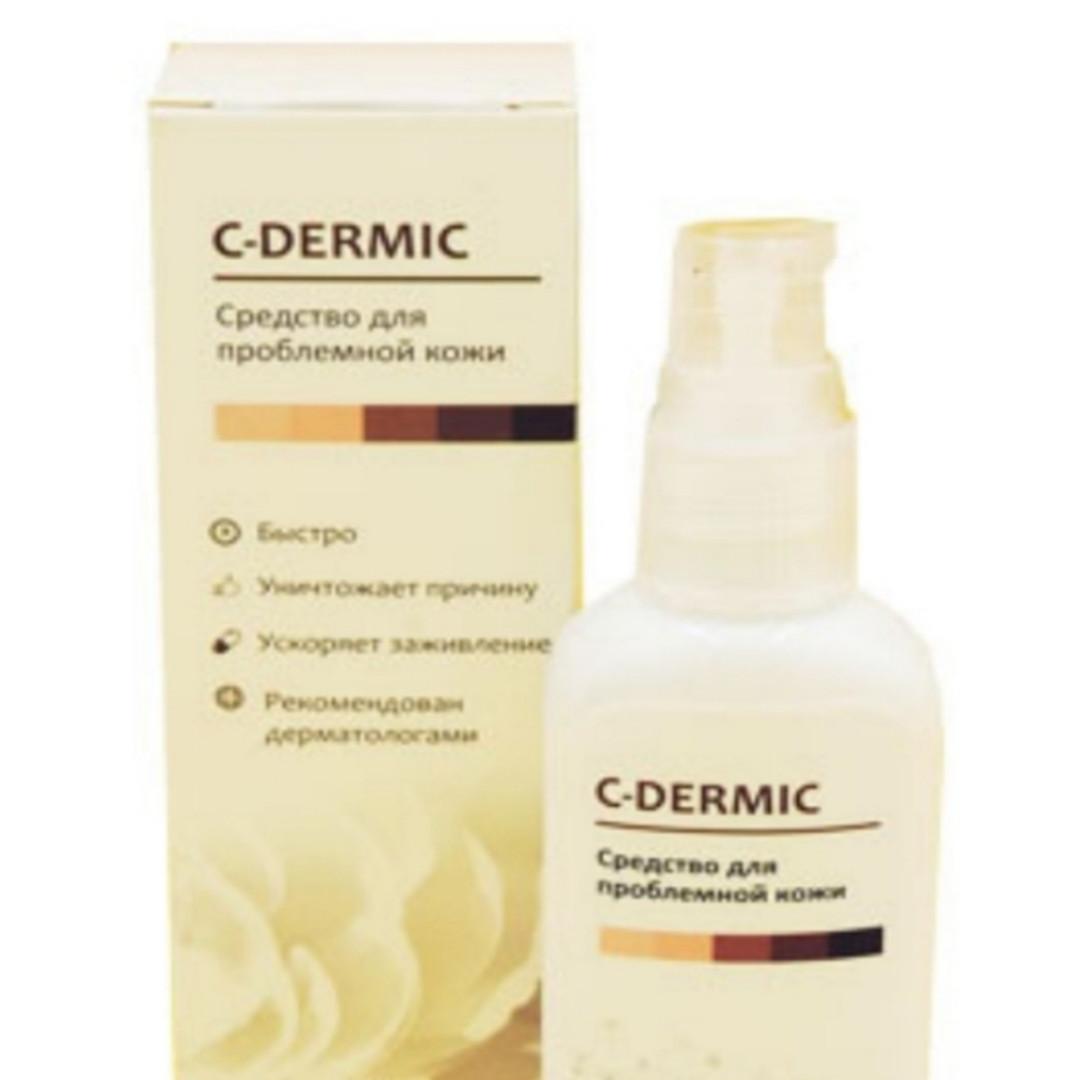 C-dermic - гель от псориаза (Це-Дермик)
