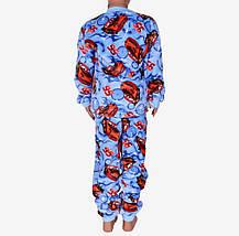 Махровая детская пижама (Мальчик+Девочка) (арт. M756), фото 3