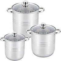 Набір Кухонного Посуду Uniquе UN-5041 Набір Каструль 6 Предметів