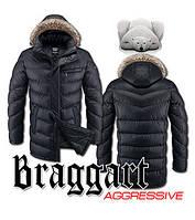 Куртка мужская длинная зимняя Braggart