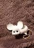 Брошь брошка значок белая крыса мышь металл супер как живая ШКОДНАЯ!, фото 6