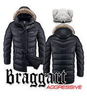 Куртка зимняя мужская длинная Braggart