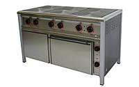 Плита электрическая ПЭ-6Ш, с жарочным и нейтральным шкафами