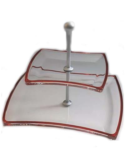 Фруктовниця 2-х ярусна Winx Cherry Red Walther-Glas WG-4487