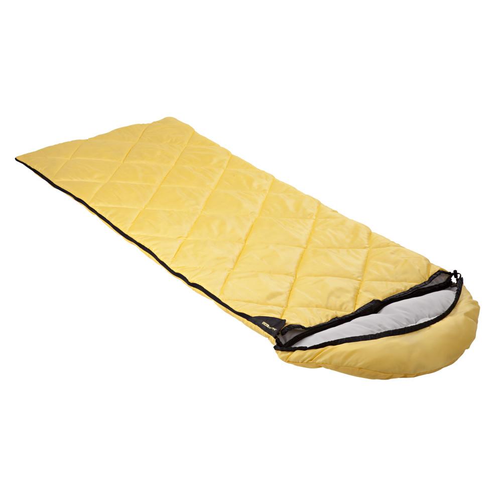 Спальный мешок-одеяло с капюшоном Кемпинг Peak 200R