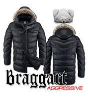 Зимняя куртка длинная мужская Braggart