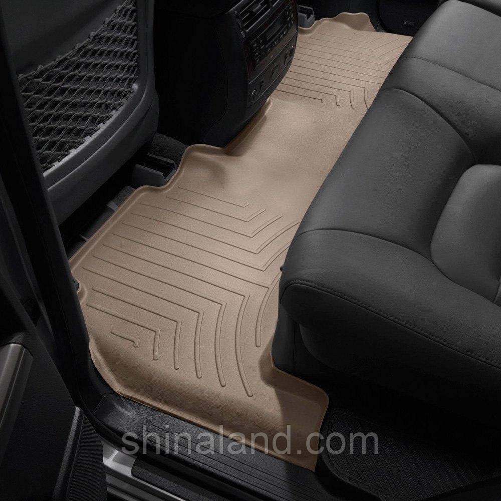 Коврики в салон Lexus LX570, LX450 / Toyota Land Cruiser 200 2008 - бежевые, Tri-Extruded (WeatherTech) -