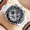Часы мужские наручные Casio G-Shock Twin Sensor White/Black