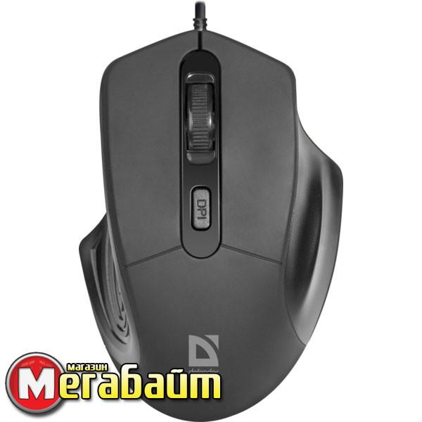 Мышь Defender Datum MB-347 Black