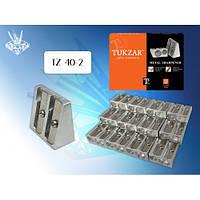 Точилка металлическая двойная TZ 40-2
