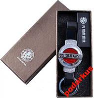 Зажигалка-брелок электронная USB с зарядкой Нисан