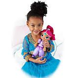 Fisher-Price Шиммер и Шайн мягкая говорящая Шиммер DGM06 Shimmer Shine Talk Sing Shimmer Doll Nickelodeon, фото 4