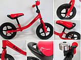 Беговел R-Sport R1 колеса 12 пена красный, фото 4