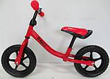Беговел R-Sport R1 колеса 12 пена красный, фото 3