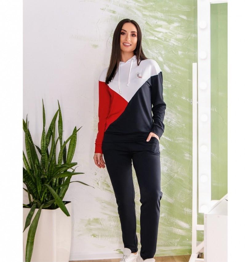 Спортивный костюм Minova 1820-красный