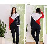 Спортивный костюм Minova 1820-красный, фото 4