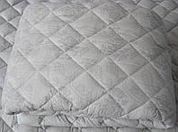Одеяло силиконовое двуспальное, ткань бязь (арт.2891)