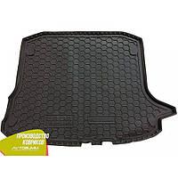 Авто коврик в багажник Ваз Lada Largus 2012- (5-мест) (Avto-Gumm) Автогум