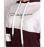 Спортивный костюм Minova 1813-бордо, фото 2