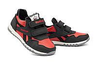 Детские кроссовки кожаные весна/осень красные-черные CrosSAV 12L, фото 1
