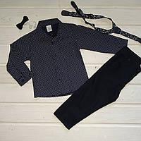 ✅Костюм нарядный для мальчика штаны и рубашка 86 92, фото 1