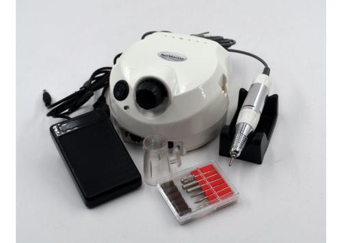 Фрезерный аппарат для маникюра, педикюра и наращивания ногтей Nail Drill, US-202, на 35000 оборотов, white