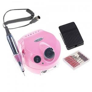Фрезерный аппарат для маникюра, педикюра и наращивания ногтей Nail Drill, US-202, на 35000 оборотов, pink, фото 2