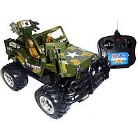 Машина-джип HQ 3010 / 3015 «Тайфун» на радиоуправлении (зеленая) HN